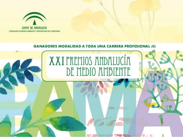 La Presidenta de Ansemac, Esperanza Fitz Luna, elegida miembro del Jurado de la XXI edición de los Premio Andalucía de Medio Ambiente.