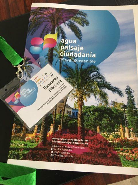 Inauguradas las I Jornadas A+P+C. Sevilla ciudad sostenible : de los orígenes del jardín al sistema verde urbano, con la participación de representantes de Ansemac.