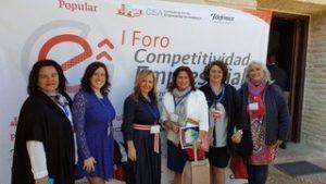 Esperanza Fitz Luna, asiste a la Asamblea General de la Confederación de Empresarios de Andalucía y posterior Encuentro Empresarial.
