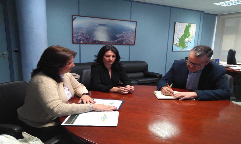 Reunión de trabajo de representantes de Ansemac con el subdelegado del Gobierno de la Junta de Andalucía en el Campo de Gibraltar.