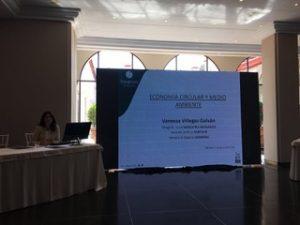 """Vanessa Villegas, Secretaria General de Ansemac, participa con una ponencia en las Jornadas de Medio Ambiente """" Nuestro Futuro, Nuestra Responsabilidad """"."""