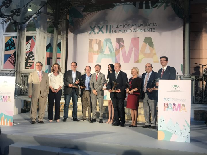 Entrega XXII Premios Andalucía Medio Ambiente 2018