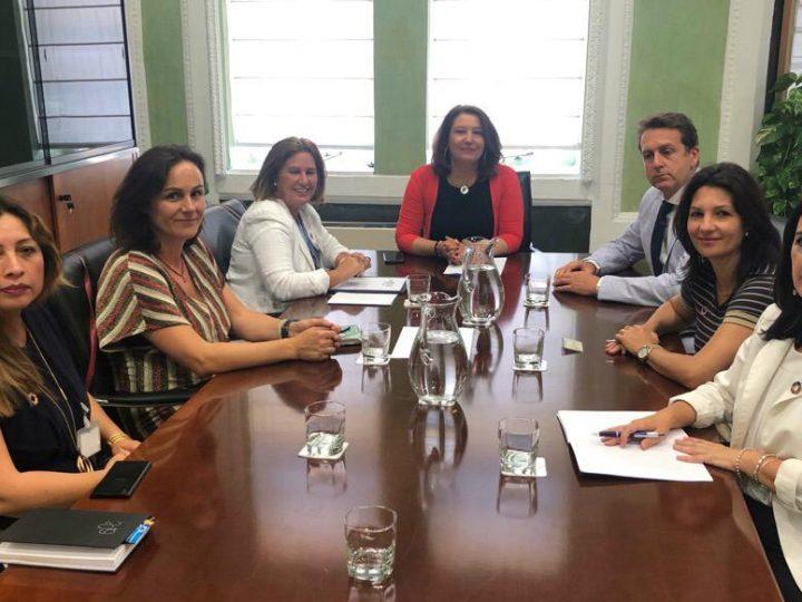 Reunión Junta Directiva Ansemac y la Consejera de Agricultura, Ganadería, Pesca y Desarrollo Sostenible