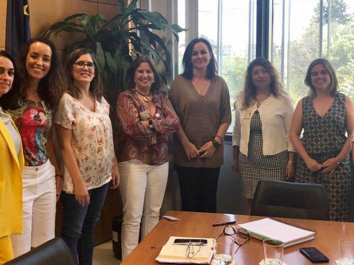 La Directora General de Calidad Ambiental y Cambio Climático  se reúne con  la Junta Directiva de Ansemac