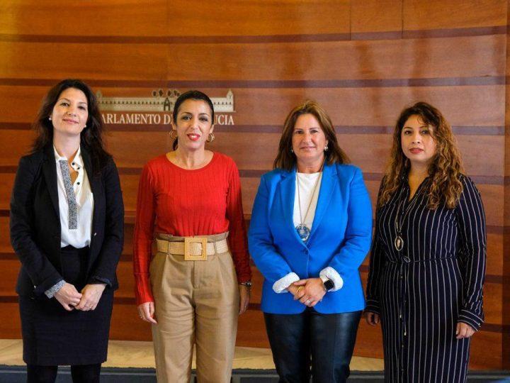 La Presidenta del Parlamento Andaluz se reúne con la Junta Directiva de ANSEMAC