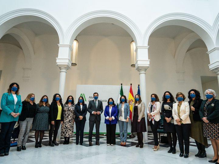 El Presidente de la Junta de Andalucía se reúne con Ansemac