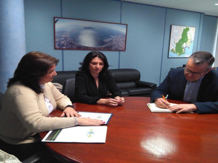 Reunión de trabajo de representantes de Ansemac con el subdelegado del Gobierno de la Junta de Andalucía en el Campo de Gibraltar