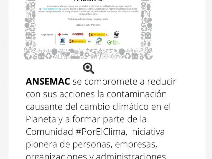 ANSEMAC forma parte de la Comunidad #PorElClima