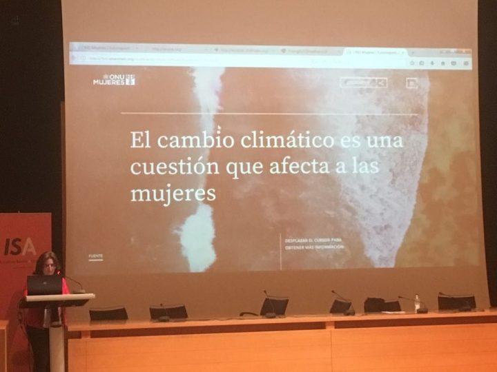 «El Cambio Climático es una cuestión que afecta a las mujeres»