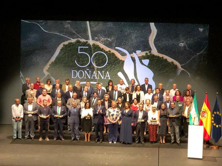 Gala 50 aniversario, Parque Nacional de Doñana