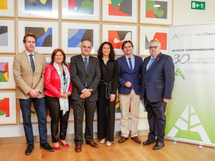 Ansemac participa en el acto de conmemoración del 30 aniversario de AAEF