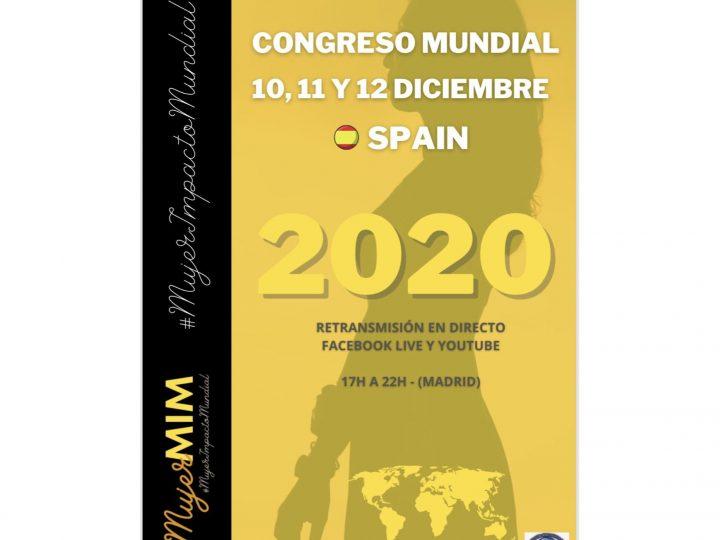 Ansemac, entidad colaboradora del Congreso Mujer de Impacto Mundial 2020